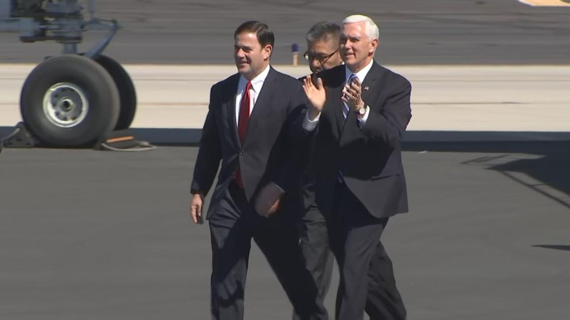 Vice President Mike Pence visits Phoenix for remarks