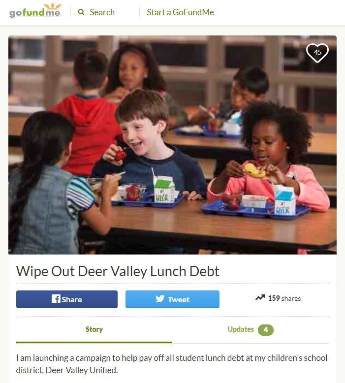 Phoenix dad Pays it Forward to help other parents pay for school lunches