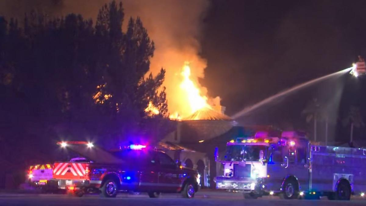 House fire in Chandler