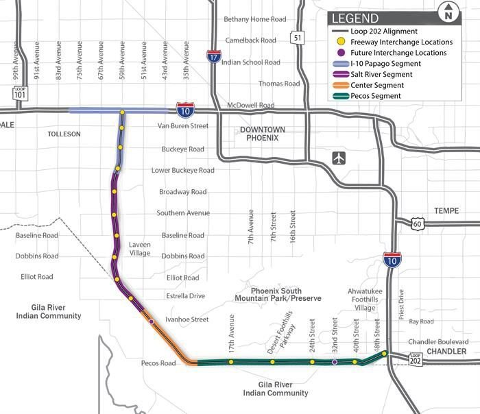 South Mountain Freeway project