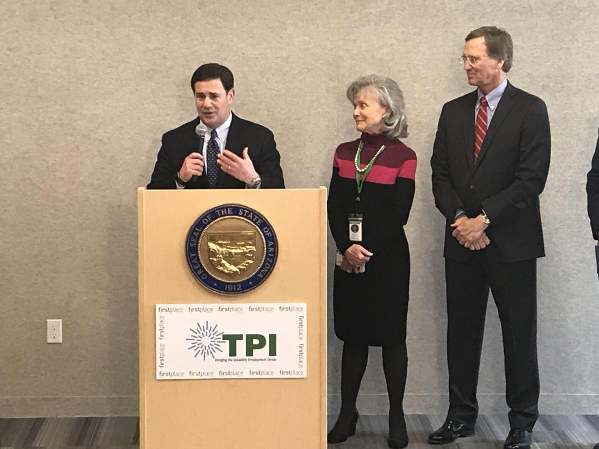 Gov. Ducey talks about new jobs for adults living with autism