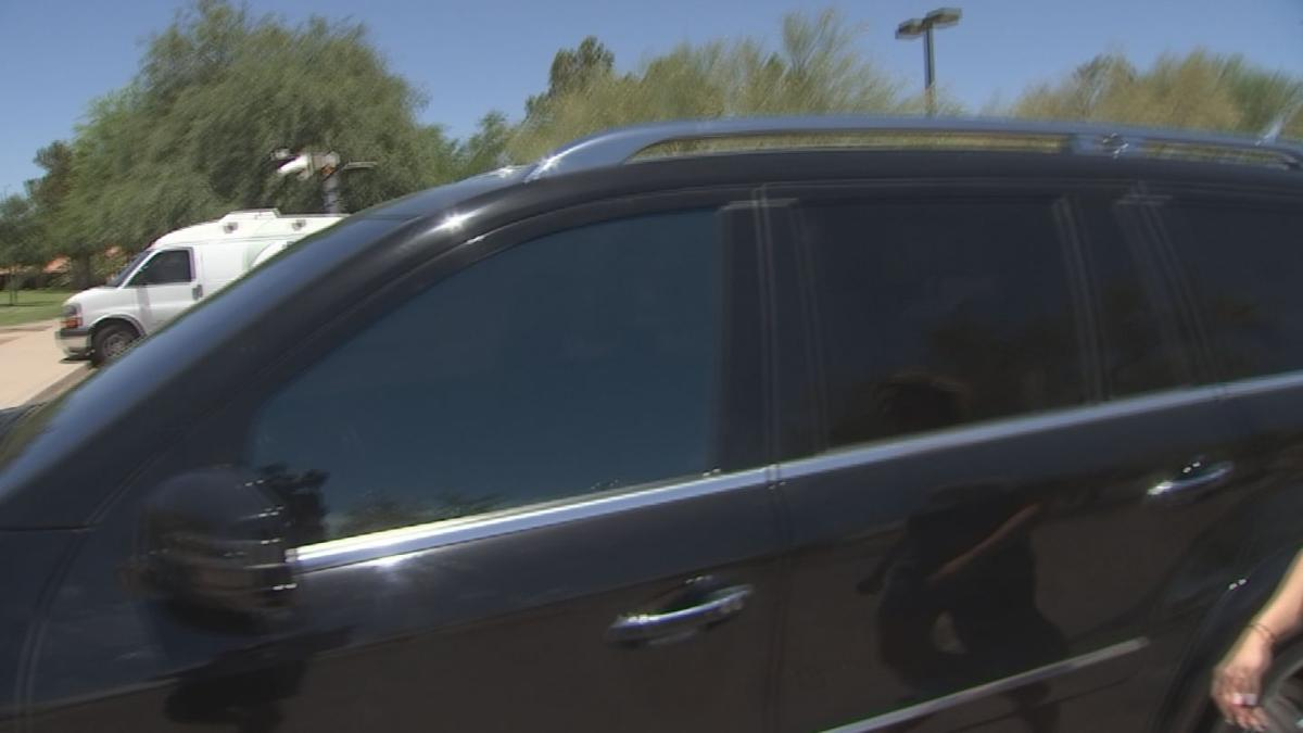 Seat belts and door handles can cause severe burns in extreme heat