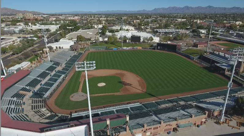 Scottsdale Stadium getting a face lift
