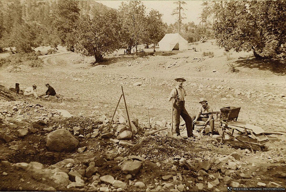 Arizona Placer Miners near Prescott