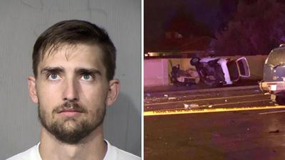 Colton Hutchings was arrested in the December 2019 crash
