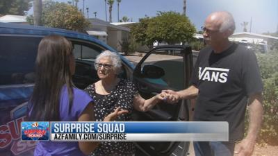 SURPRISE SQUAD: Holocaust Survivor and Theft Victim Proves Love Stronger Than Hate