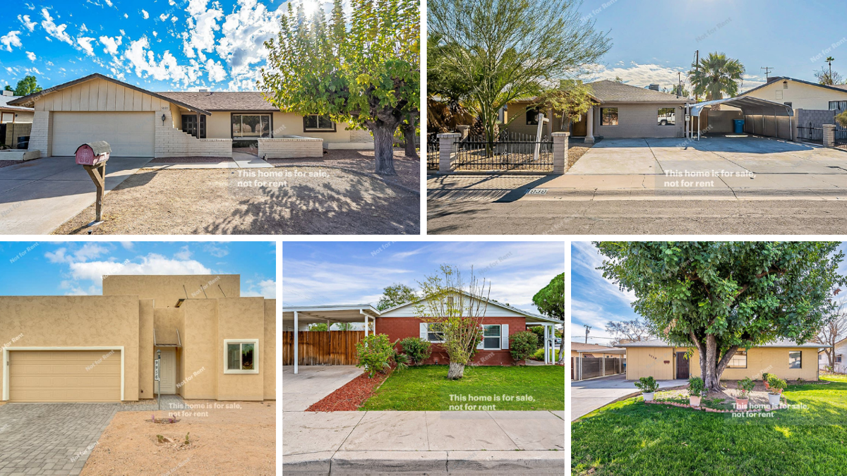 PHOTOS: 5 traditional homes under $400K around the Valley