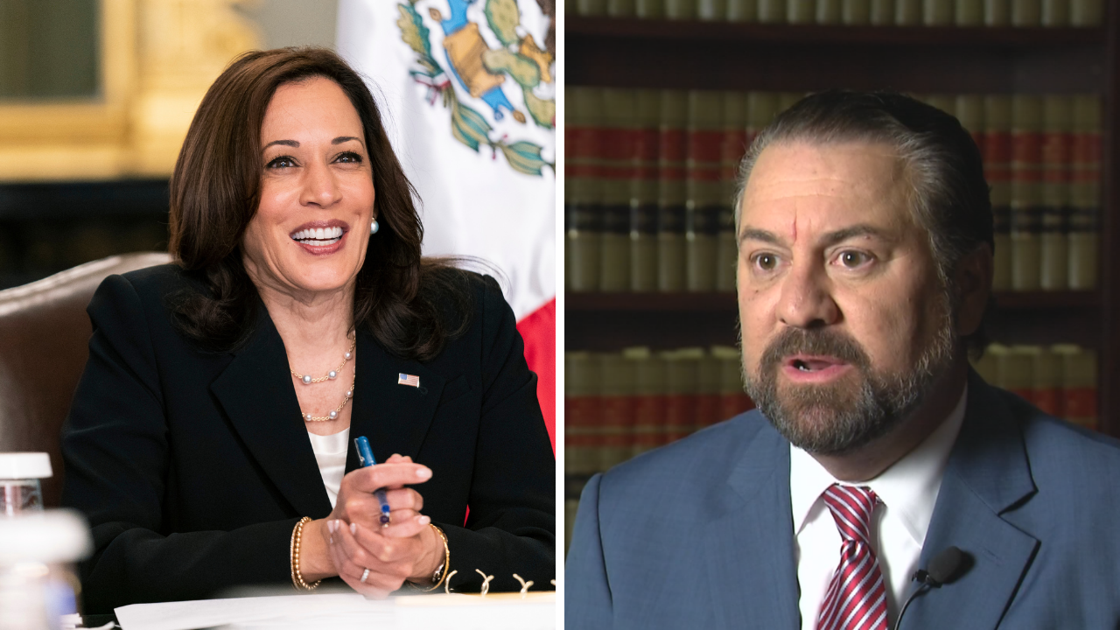 Arizona attorney general calls on President Biden to replace VP Harris as 'border czar'