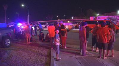 About 40 people evacuated due to 1st alarm apartment fire, Chandler fire says