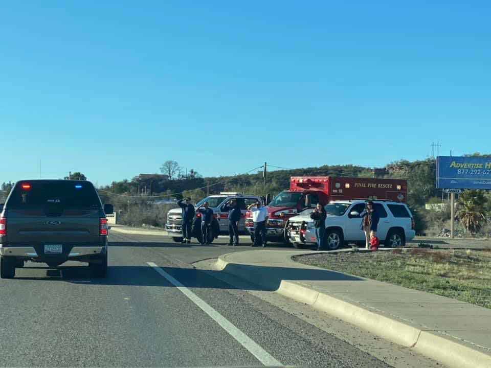 First responders pay respects to fallen officer David Kellywood