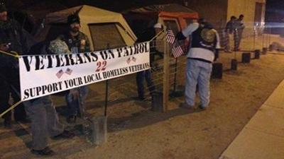 Veterans on Patrol operates 3 camps to watch over homeless