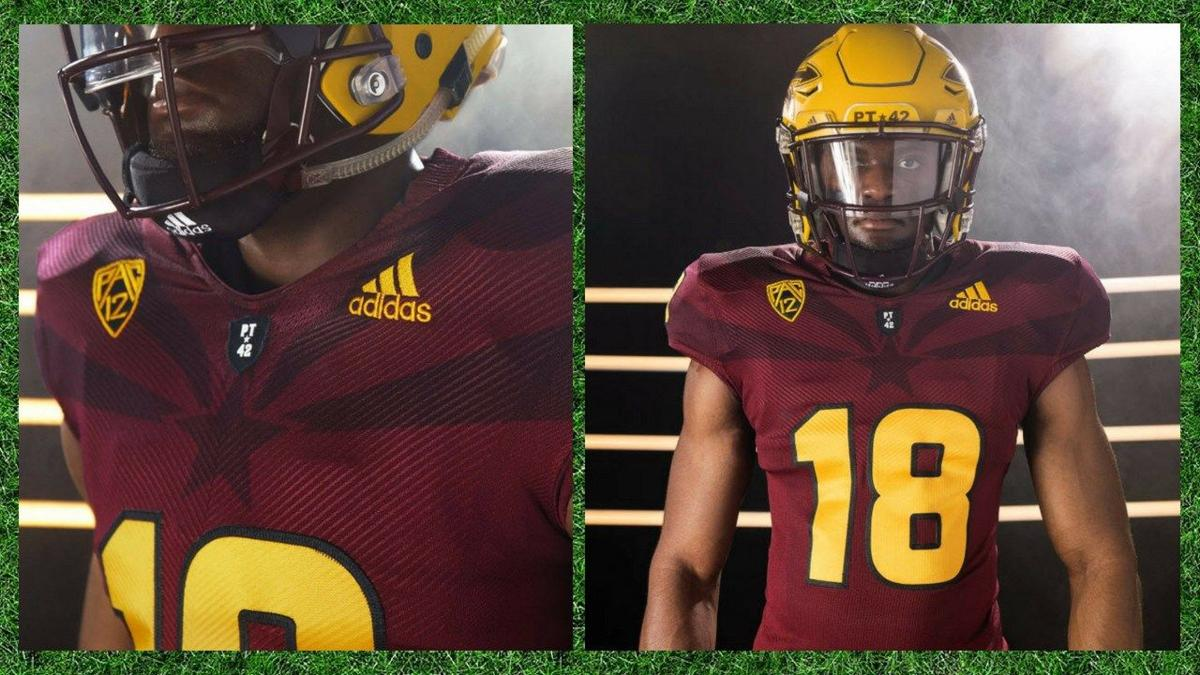 58f1aee26 The Sun Devils are stylin' this season! ASU shows off new football ...