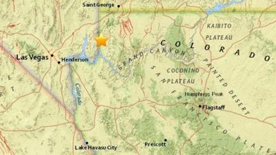Earthquake swarm in NW Arizona keeps rolling on
