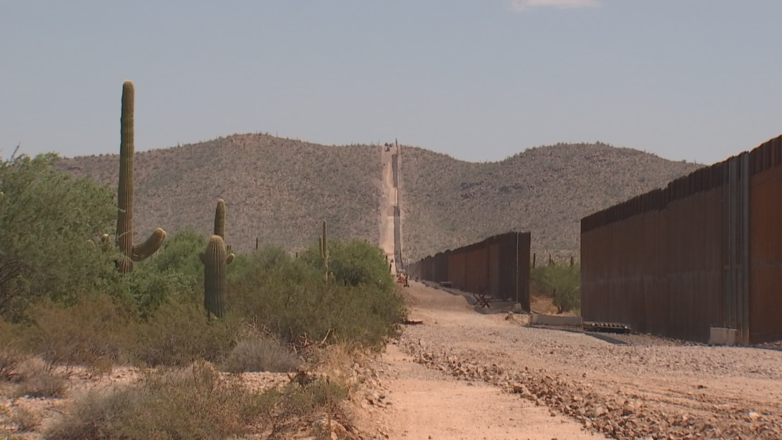 Illegal border crossings up in some areas of Arizona with new wall