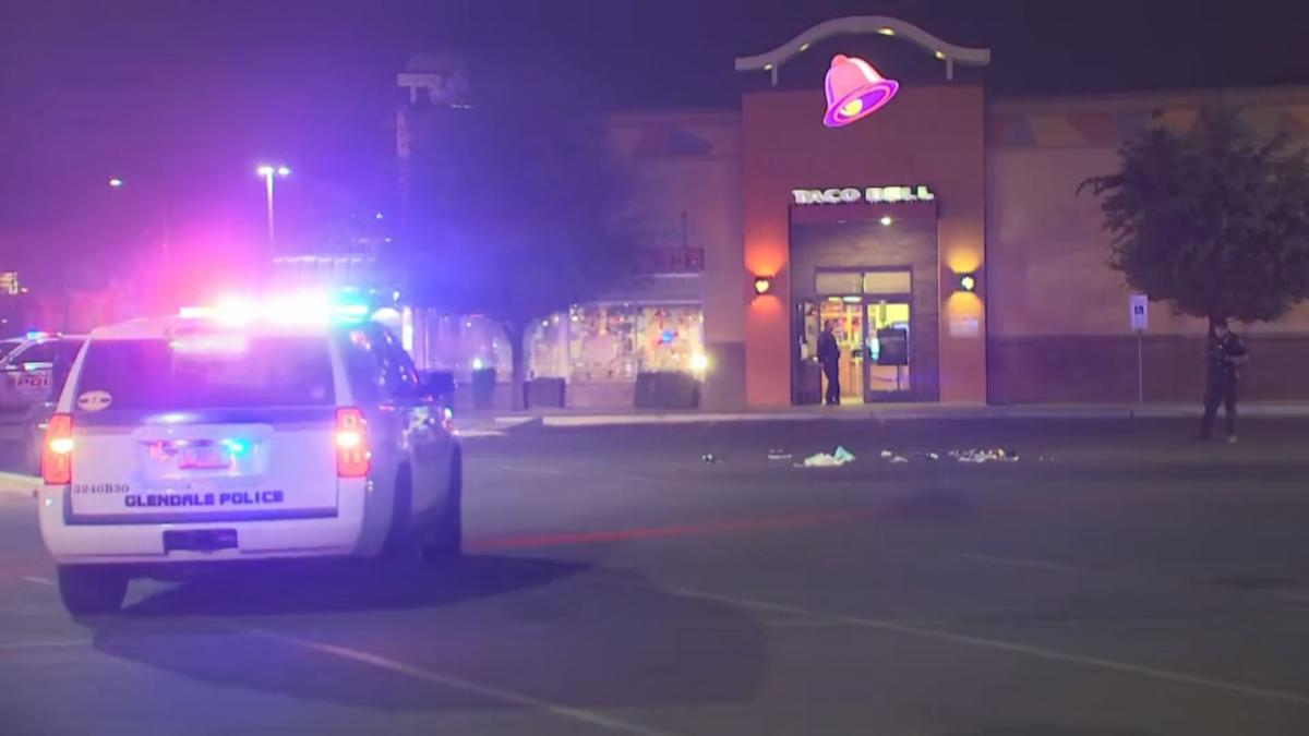 Officer-involved shooting at Glendale Taco Bell