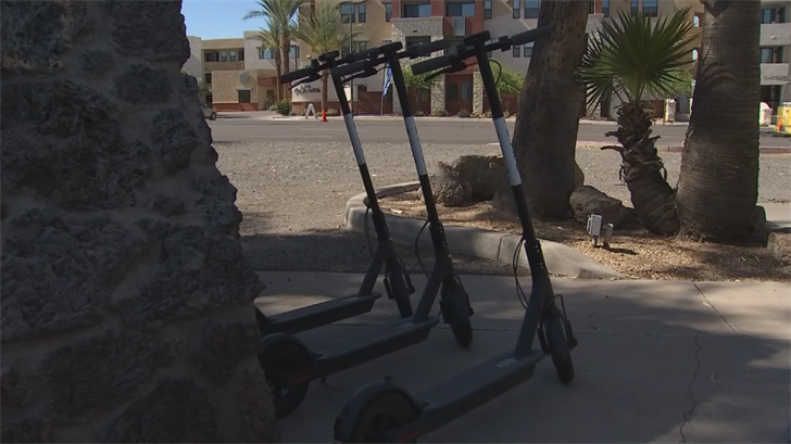 Dockless Bird scooters land in Tempe