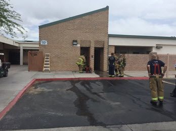Marcos de Niza High student arrested for campus arson