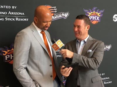 Suns introduce new Head Coach Monty Williams