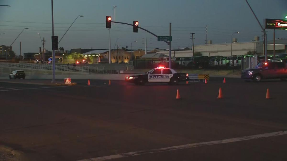 Officer-involved shooting near Broadway Road and Country Club Drive