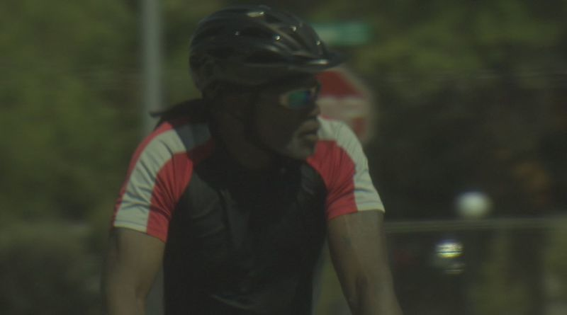 Convicted killer William Huff was spotted riding a bicycle through Tucson