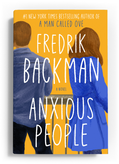 Olivia's Book Club: Discussing Fredrik Backman's 'Anxious People'