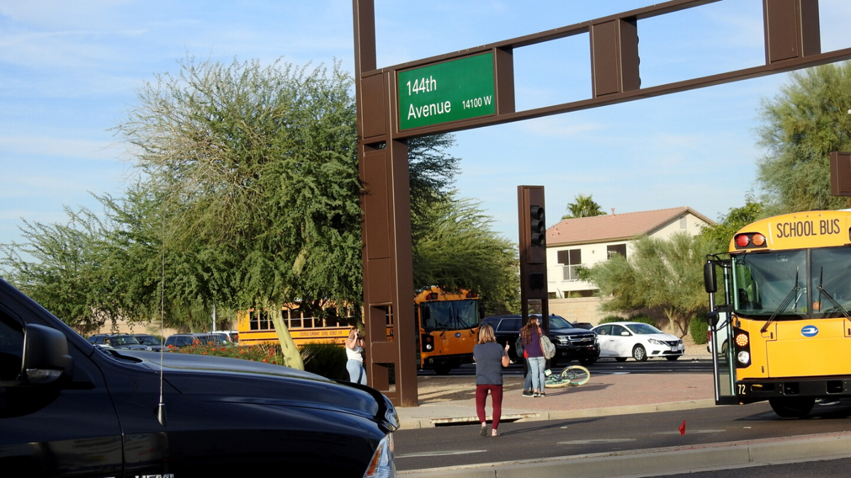Boy Hit By School Bus In Goodyear Has Died Arizona News Azfamily Com