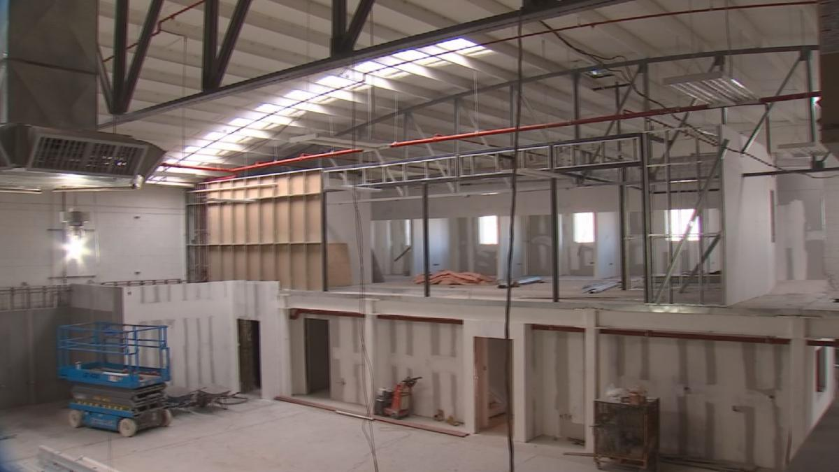New migrant shelter takes shape in Nogales, Sonora
