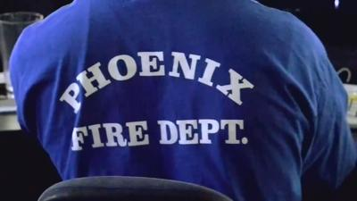 Firefighters take precautions