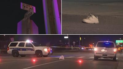 Man stuck by hit-and-run driver in Phoenix