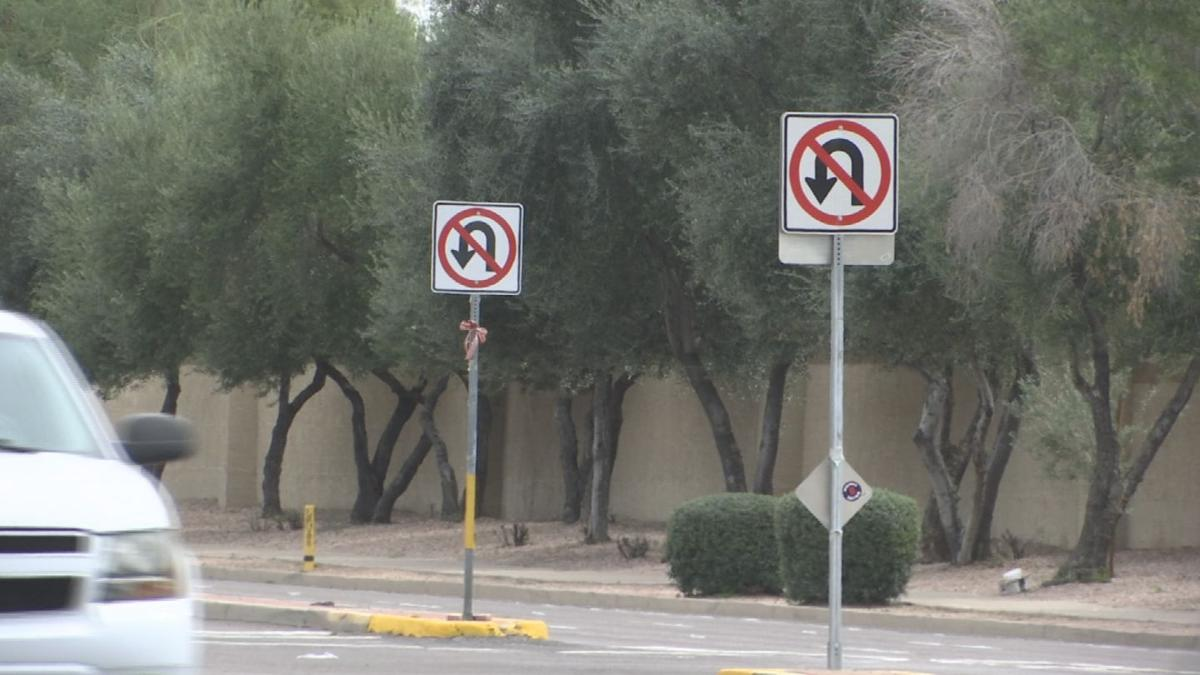 On Ray Road, near the Loop 101 in Chandler, there are signs prohibiting U-turns, signs that are ignored by drivers on a regular basis.