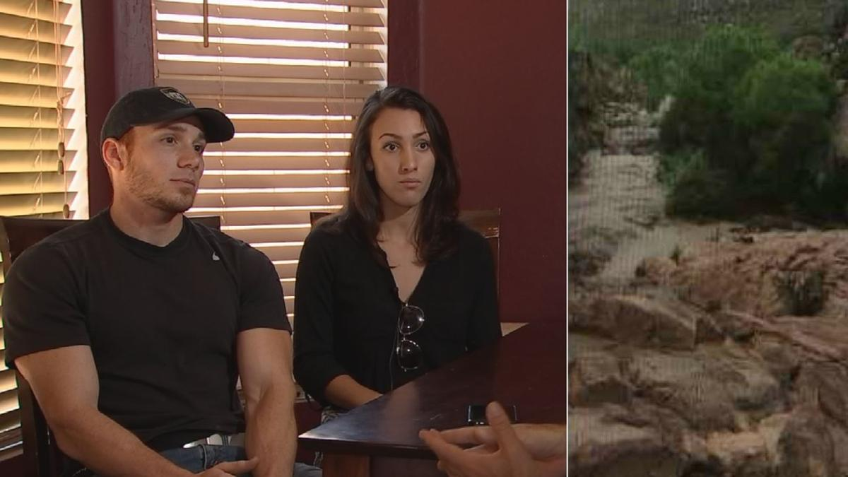 Phoenix hikers survive flash flood, now calling for warning signs near deadly trail