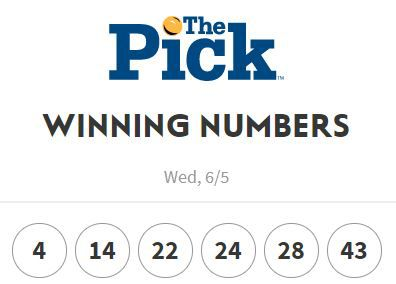 The Pick winning numbers of 6-5-19