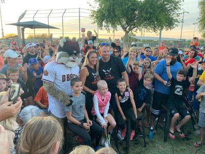 Chandler girl's team throws head-shaving party in support of her cancer fight
