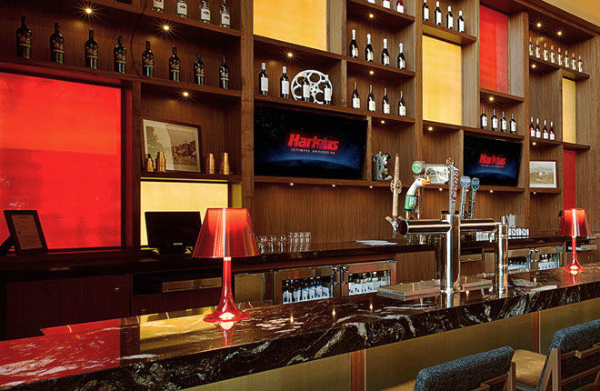 Harkins In-lobby bar