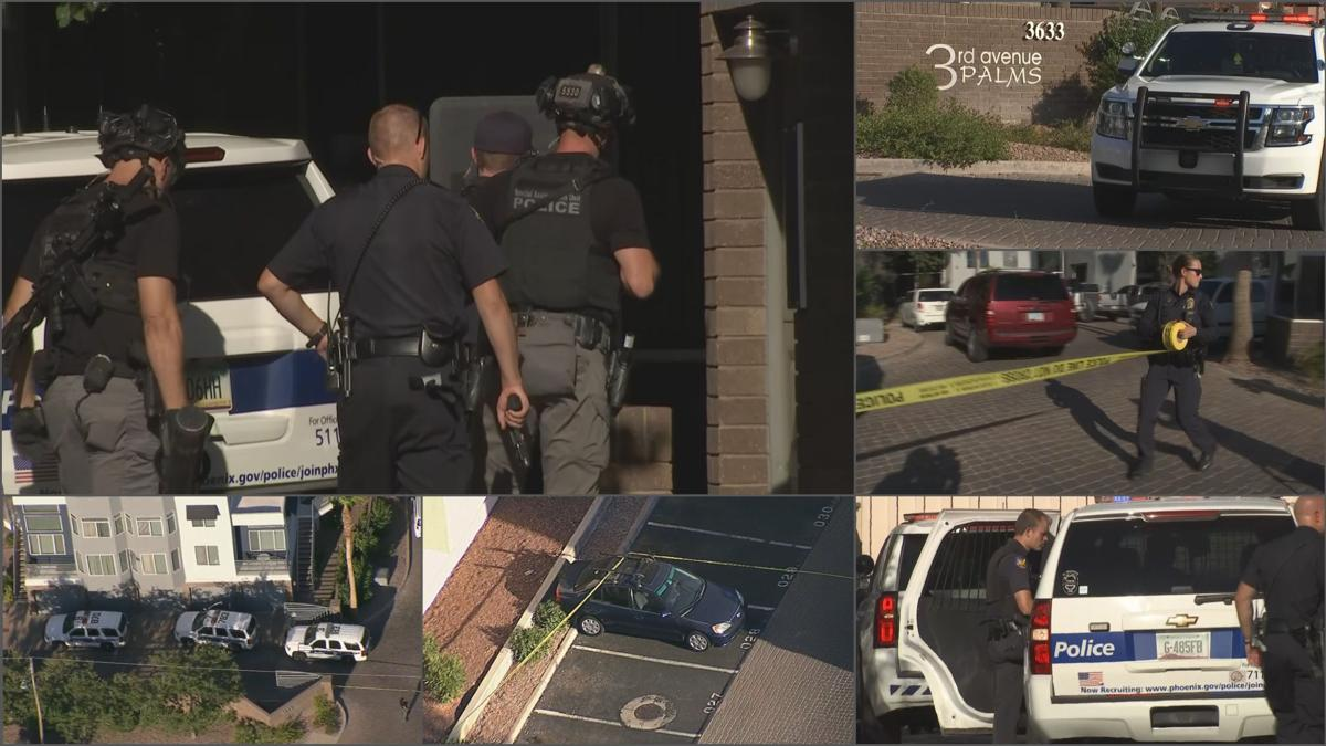 Shooting at central Phoenix condos under investigation