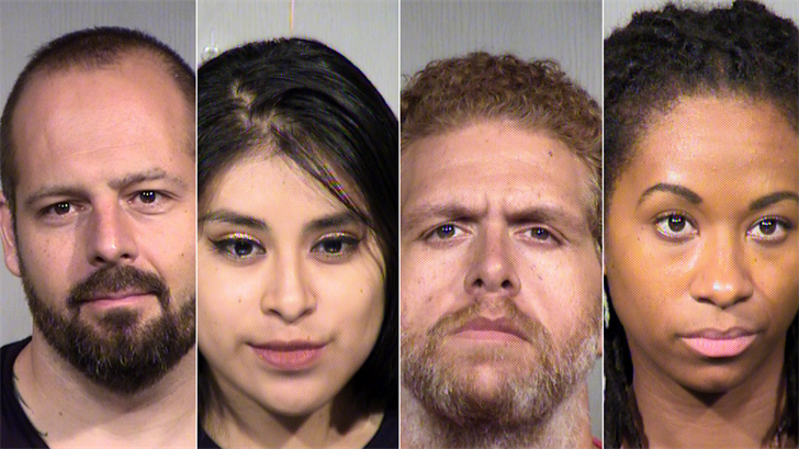 4 arrested as activists push Maricopa Co  Sheriff to oust ICE