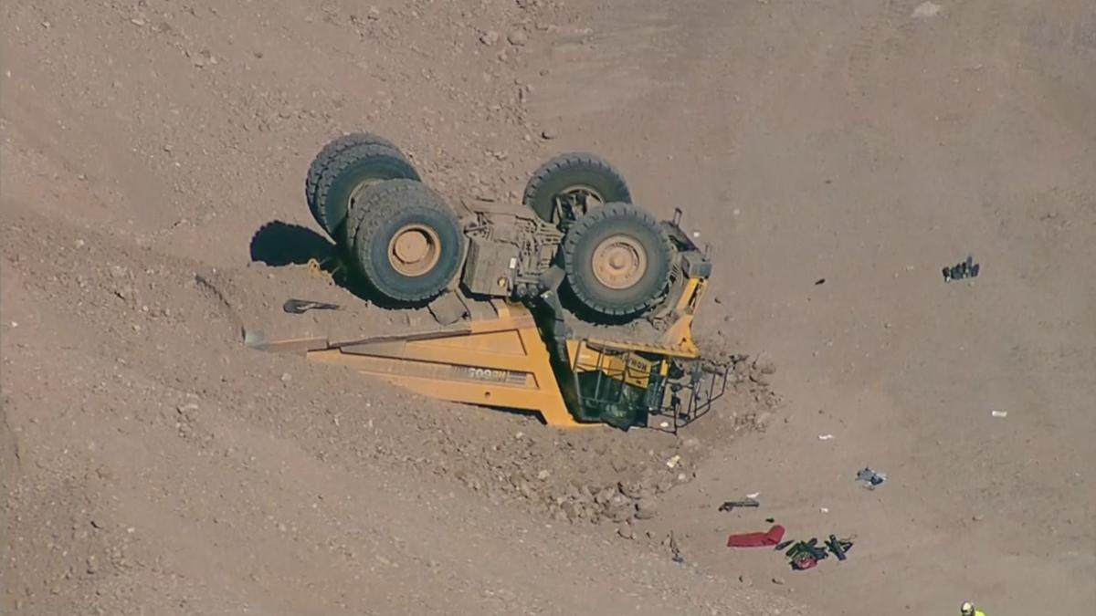 Driver injured in Mesa construction site accident