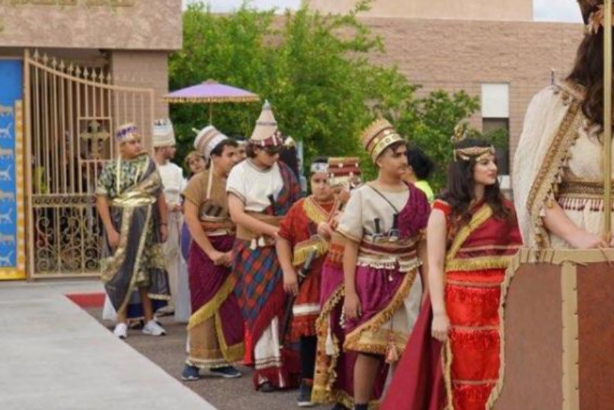 Parade at Assyrian Festival