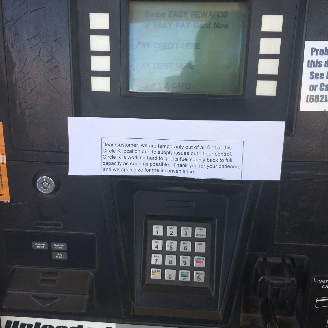 Some Circle K locations in Phoenix out of gas | Arizona News