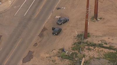 PD: Man riding dirt bike in critical condition after crash in west Phoenix