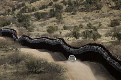 U.S.-Mexico border near Nogales, Arizona