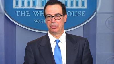 US government is running out of money faster than expected, Mnuchin warns
