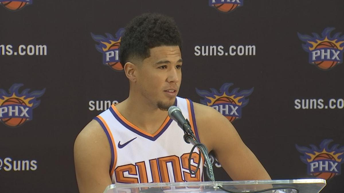 319dc3a7d13a Road to Recovery  An inside look at Devin Booker s hand injury ...