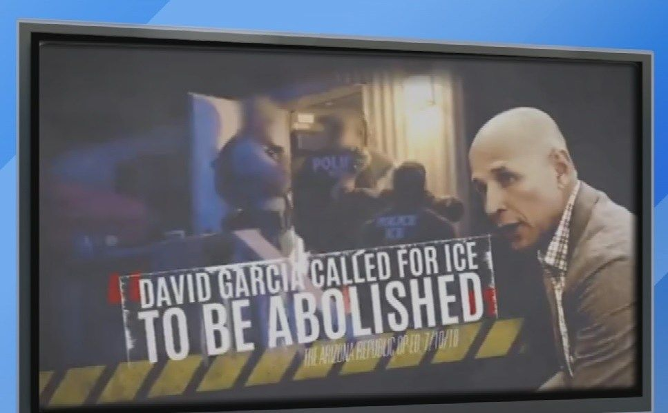 Civil rights leader says GOP attack ads against Garcia are racist