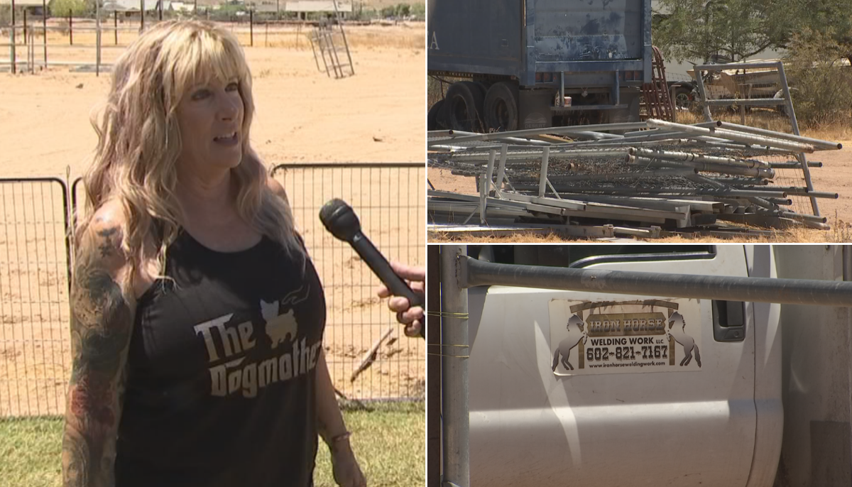 Queen Creek Homeowner Says Welding Company Has Unfinished Business 3 On Your Side Azfamily Com