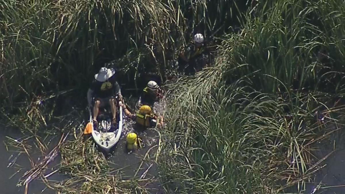 MCSO rescue horse, woman trapped in Salt River