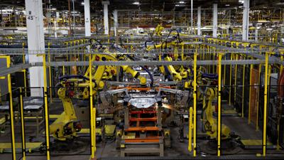 Ford forced to halt production at two plants after employees test positive for Covid-19