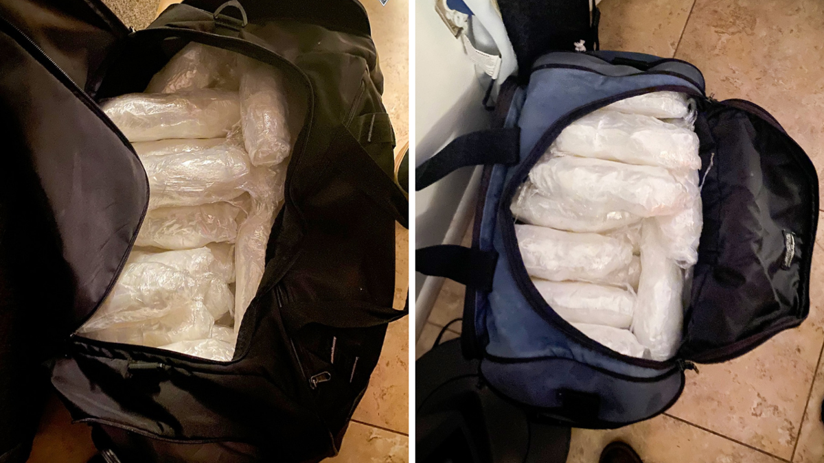 DPS arrested three people for allegedly trafficking large amount of meth, fentanyl