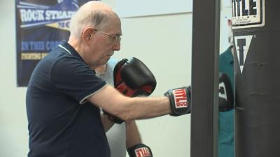 Boxing booms among baby boomers