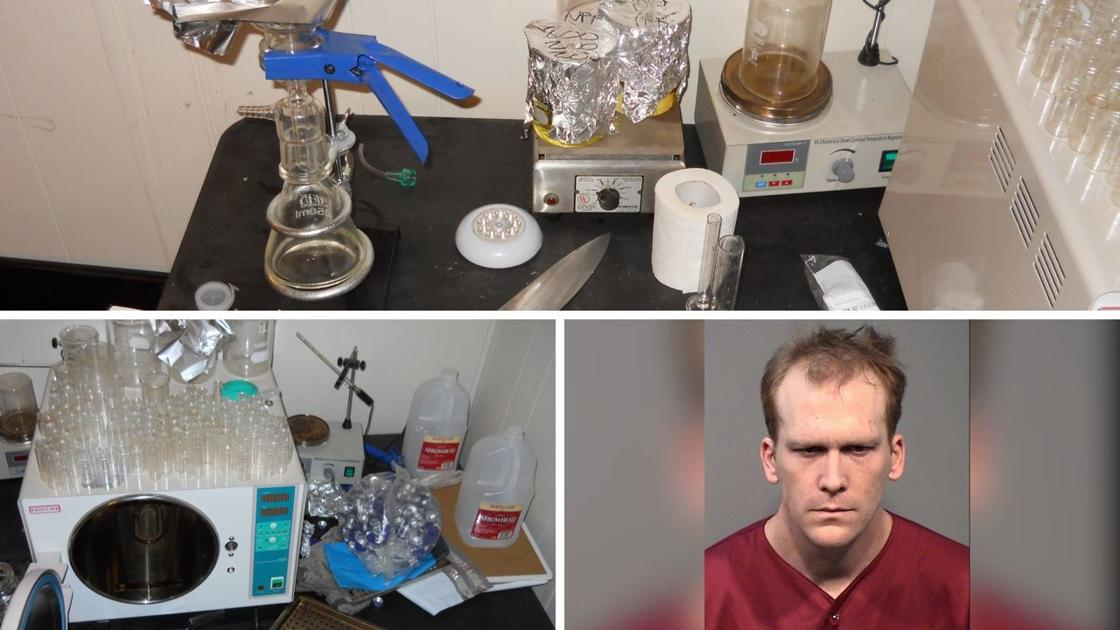 PD: Prescott man arrested after steroid lab is discovered in his home